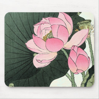JAPANESE LOTUS FLOWER Mousepad