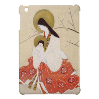 Japanese Madonna and Child Vintage Case For The iPad Mini