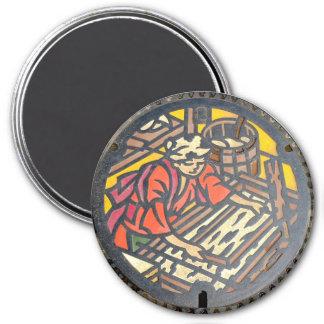 Japanese Manhole Cover – Artist Magnet