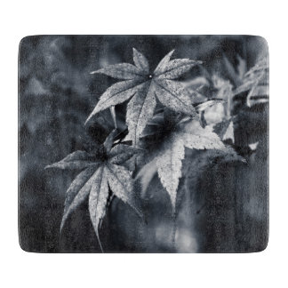Japanese Maple Leaves Cutting Board