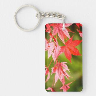 Japanese Maple Leaves Keychain