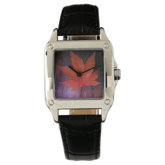 Japanese Maple Wristwatch