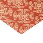 Japanese Medallion Pattern, Mandarin Orange Tissue Paper