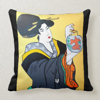 JAPANESE   MING CHEW THROW PILLOW