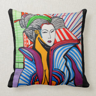 JAPANESE  MING LOO THROW PILLOW
