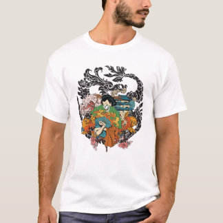 Japanese mural T-Shirt
