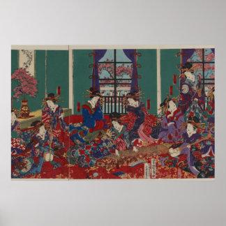 Japanese Musicians Poster