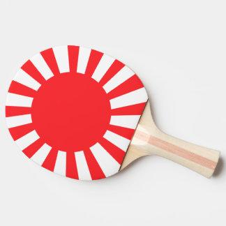 Japanese Navy Flag Ping-Pong Paddle
