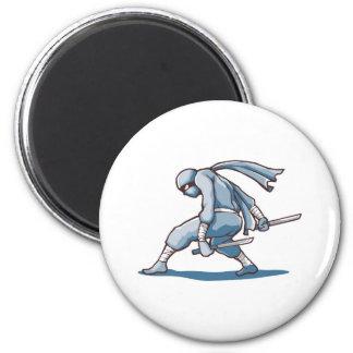 Japanese Ninja Fridge Magnets