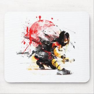 Japanese Ninja Mouse Pad