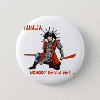 Japanese NINJA ninja 2 Inch Round Button