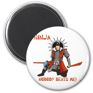 Japanese NINJA ninja Refrigerator Magnet