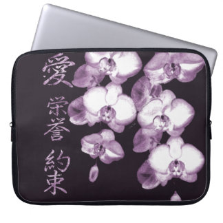 Japanese Orchids 15 Laptop Sleeve