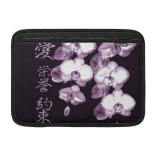 Japanese Orchids 15 MacBook Sleeve