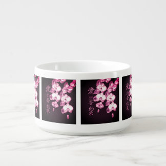 Japanese Orchids Bowl