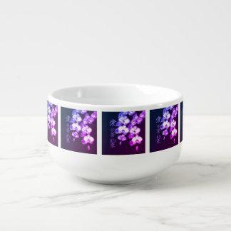 Japanese Orchids Soup Mug