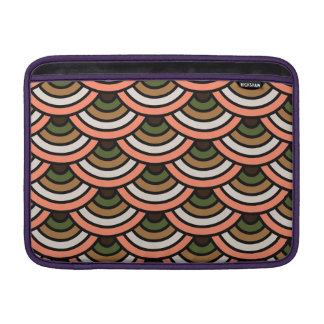 Japanese ornament pattern design sleeve for MacBook air