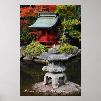 Japanese Pagoda Poster
