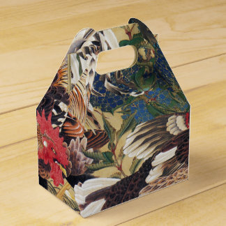 Japanese painting Rooster Favor Box