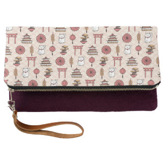 Japanese Pattern Clutch