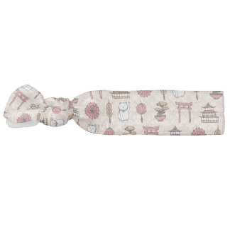 Japanese Pattern Hair Tie