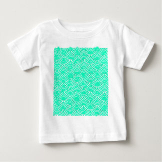 Japanese Pattern in Green Baby T-Shirt