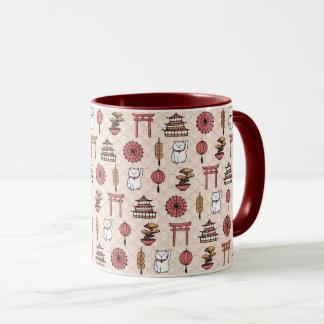 Japanese Pattern Mug