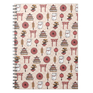 Japanese Pattern Notebook