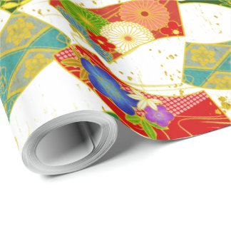 japanese pattern wrapping paper