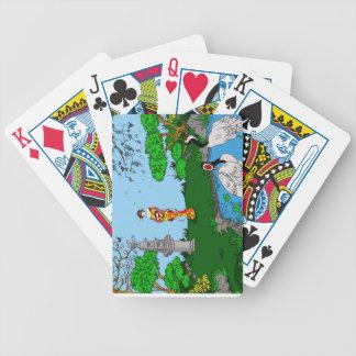 Japanese ' poker deck