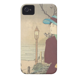 Japanese Polychrome woodblock print iPhone 4 Covers
