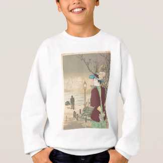 Japanese Polychrome woodblock print Sweatshirt