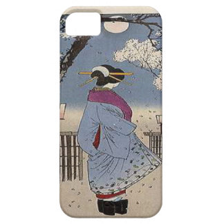 Japanese Print woman iPhone 5 Covers