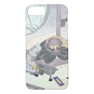 Japanese Raccon Dog Tanuki Ukiyo-e by Yoshitoshi iPhone 8/7 Case