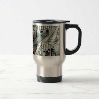 Japanese Red Cross taking care of enemy soldiers Travel Mug
