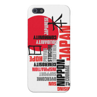 Japanese Rising Sun Hope and Solidarity Case For iPhone 5/5S