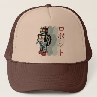 Japanese Robot Trucker Hat