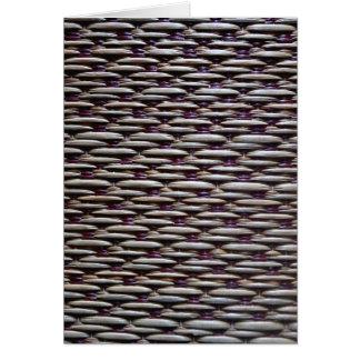 japanese rush carpet card