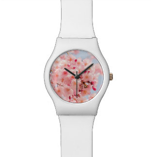 Japanese Sakura. Cherry Blossoms. Wristwatches