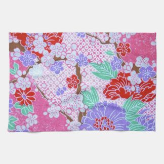 Japanese Sakura Pattern Kitchen Towel