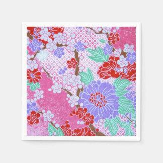 Japanese Sakura Pattern Paper Napkins