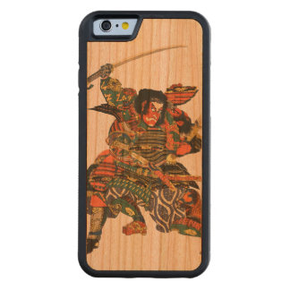 Japanese Samurai Fighting Carved® Cherry iPhone 6 Bumper Case