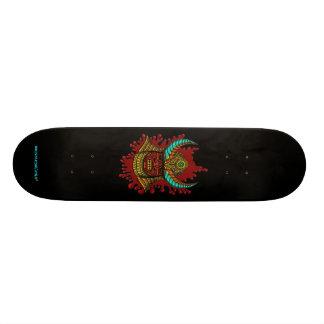 Japanese samurai helmet cool skateboard