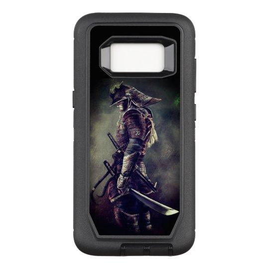 Japanese Samurai OtterBox Defender Samsung Galaxy S8 Case