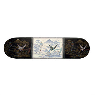 Japanese Scene skateboard deck