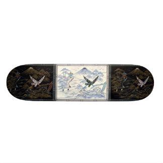 Japanese Scene skateboard deck
