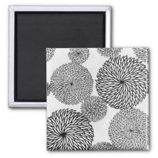 Japanese School's Chrysanthemums Magnet