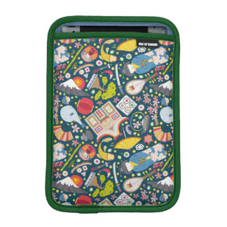 Japanese Seamless Pattern iPad Mini Sleeve
