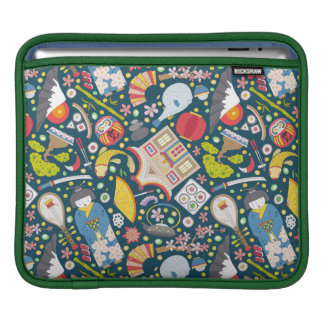 Japanese Seamless Pattern iPad Sleeve