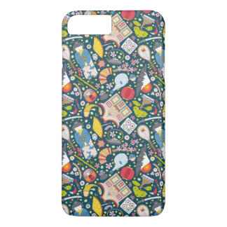 Japanese Seamless Pattern iPhone 8 Plus/7 Plus Case